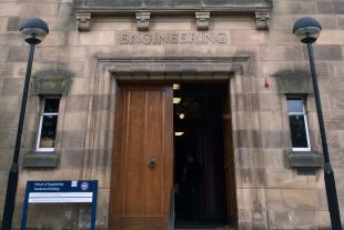Photo of the exterior of the school of engineering